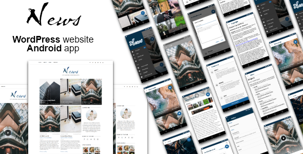 Android News App with WordPress Theme