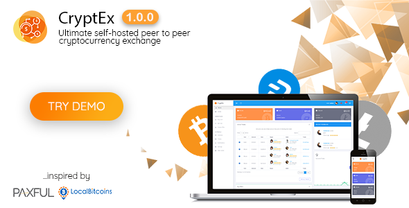 CryptEx - Ultimate peer to peer CryptoCurrency Exchange platform (with self-hosted wallets)