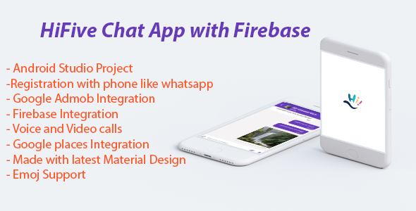HiFive Chat App with Admob