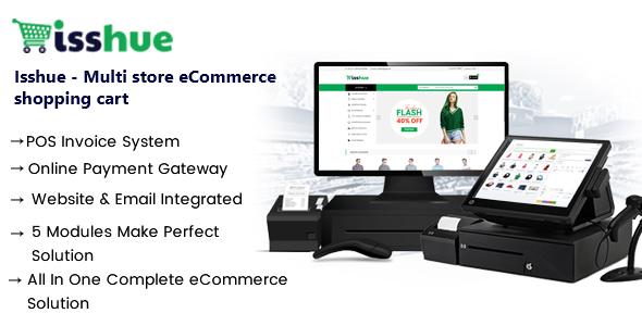 Isshue - Multi Store eCommerce Script