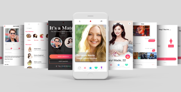Tinder Like Dating UI