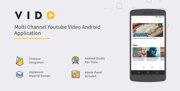 Vido - Android Youtube Multi Channel 1.1