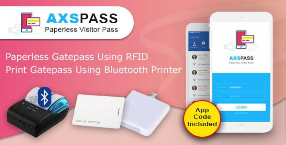 AXSPASS - GatePass Android App