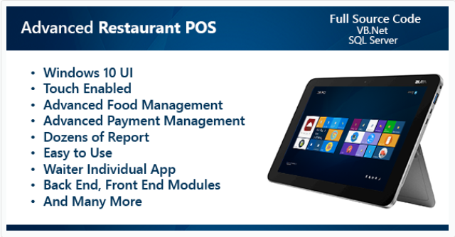 Advanced Restaurant POS Script