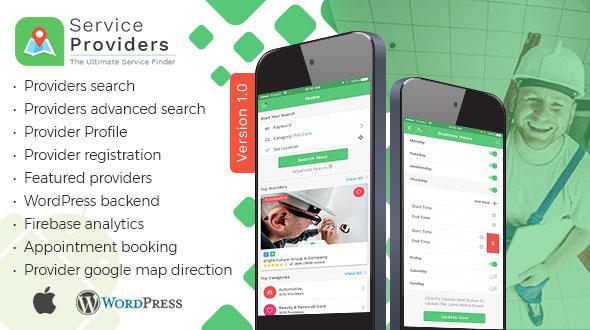 Listingo - Service Providers, Business Finder IOS Native App