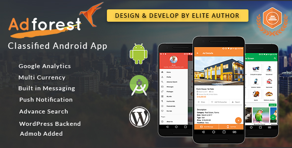 AdForest Classified Android App