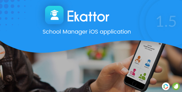 Ekattor School Manager iOS Application