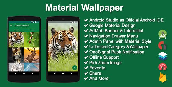 Material Wallpaper