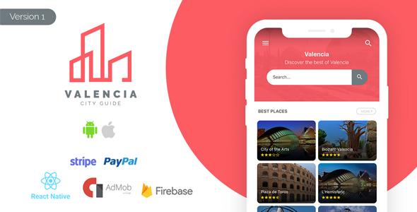 Valencia - City Guide App + Offers & Deals + Admin Panel
