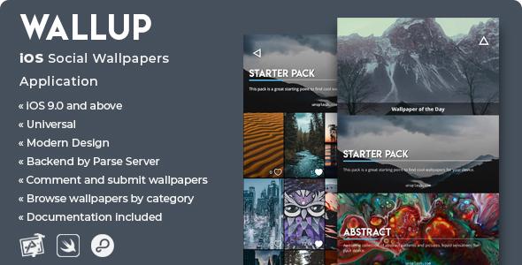 WallUp | iOS Social Wallpapers Application