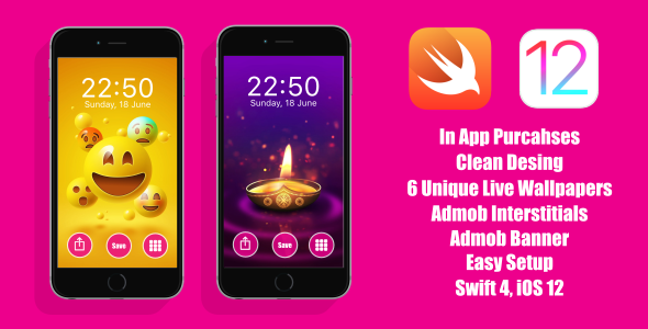 Live Wallpapers iOS App