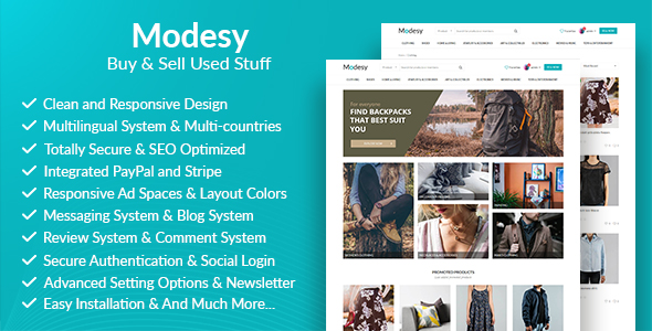 Modesy - Buy & Sell Used Products