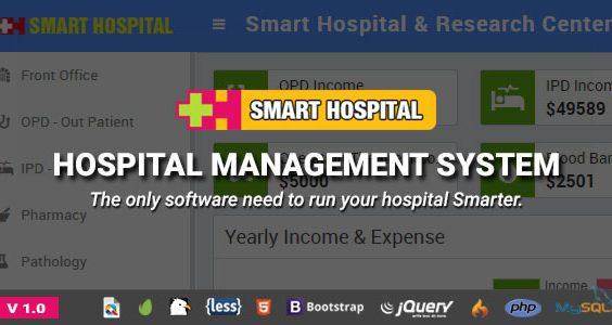 Smart Hospital : Hospital Management System