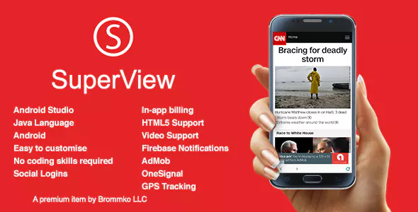 SuperView - WebView App