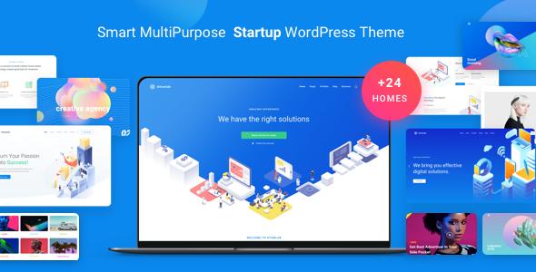 Atomlab - Multi-Purpose Startup WordPress Theme
