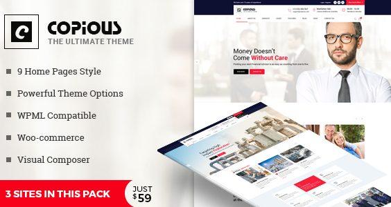 Copious - Multiuse WordPress Theme