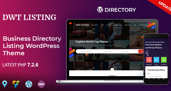 DWT Listing - Directory & Listing WordPress Theme