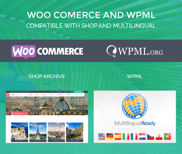Love Travel WordPress Theme
