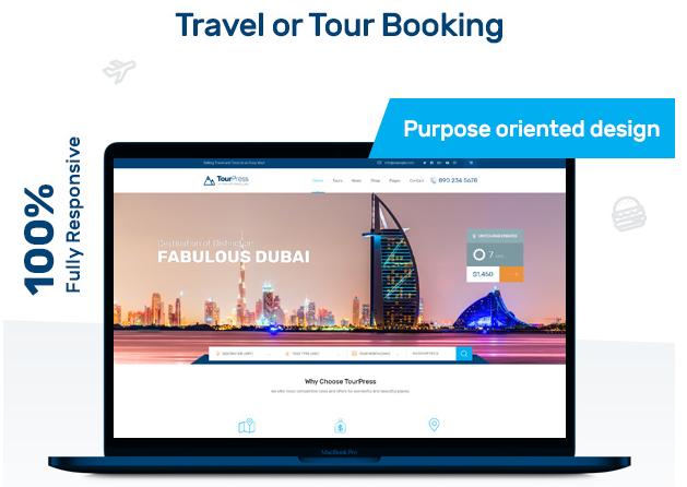TourPress WordPress Theme