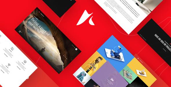 Anchord | Freelancer & Creative Agency Portfolio Theme