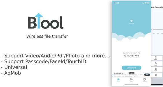 BTool Pro - Wireless file transfer