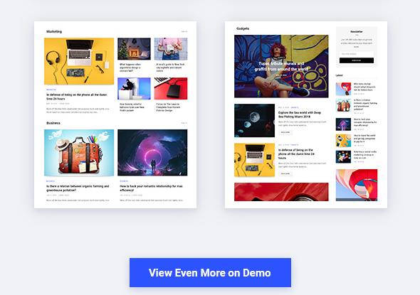 Contentberg WordPress theme