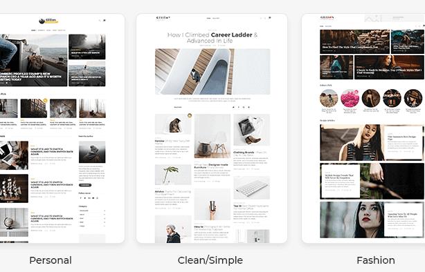Gillion WordPress Theme