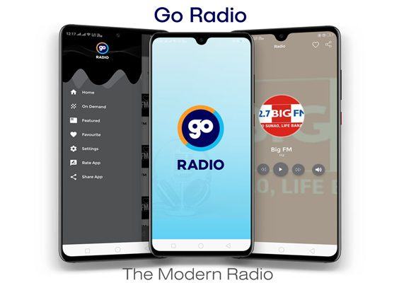 GoRadio - Live Streaming App