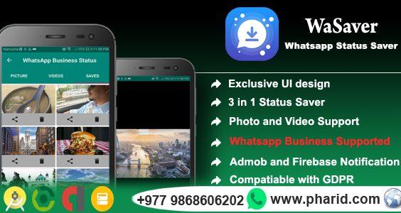 Status Saver for Whatsapp - Viral App | WA GB | WA | WA Business | Material Design