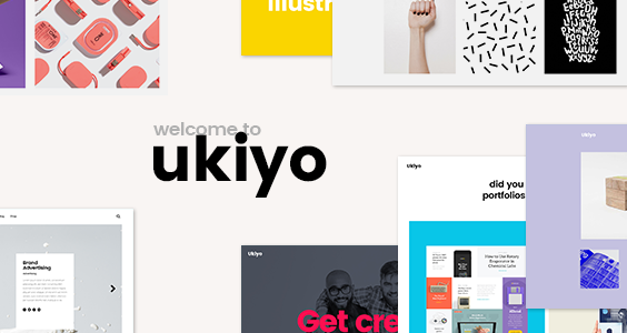 Ukiyo - Modern Agency and Freelancer Portfolio Theme