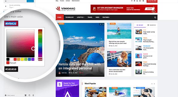 Vinkmag WordPress Theme