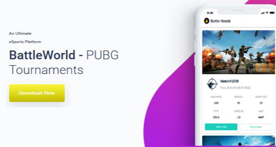 BattleWorld - Online PUBG Tournaments organizer