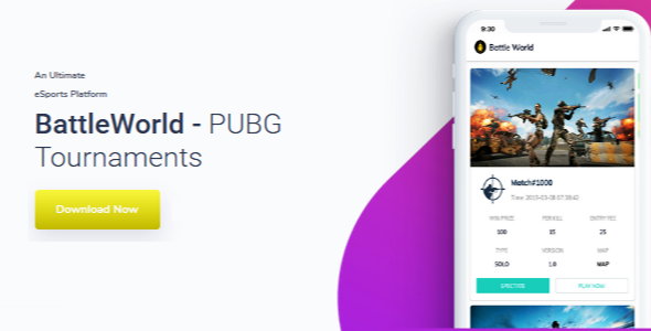 BattleWorld - Online PUBG Tournaments organizer