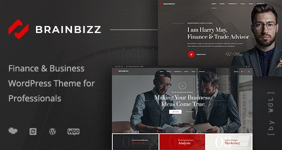 BrainBizz - Finance & Business WordPress Theme