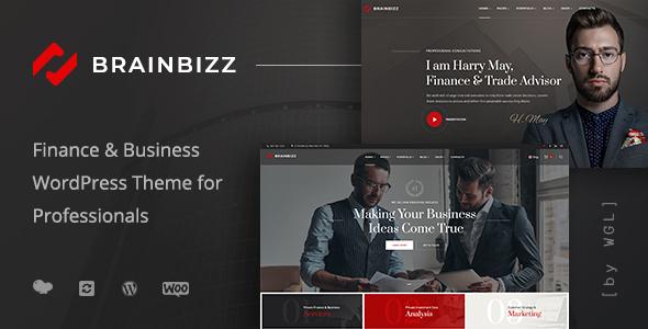 BrainBizz - Finance & Business WordPress Theme
