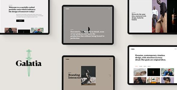 Galatia - Contemporary Agency Theme