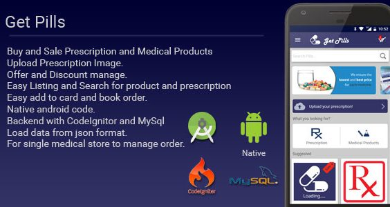 Get Pills - Android Medicine App