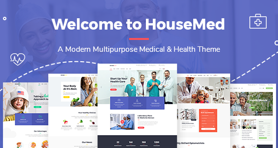 HouseMed - Multipurpose Medical and Health Theme