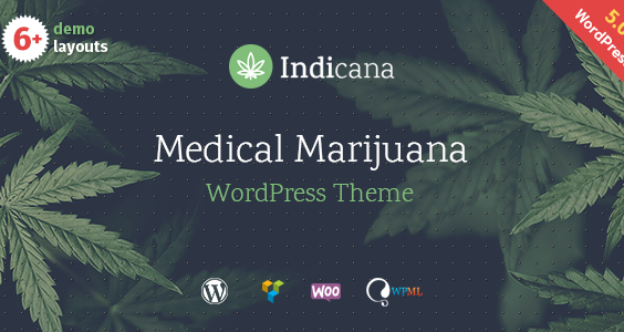 Indicana - Medical Marijuana Dispensary WordPress Theme