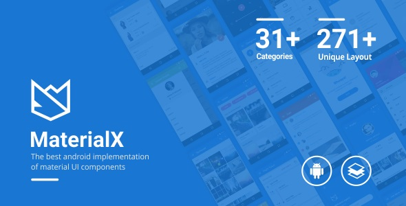MaterialX - Android Material Design UI Components 2.3