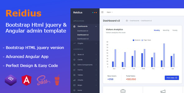 download website assets and bootstrap templates