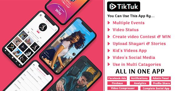 Tiktuk The Complete Video Social Media