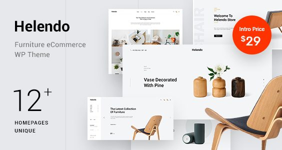 Helendo - Furniture eCommerce WordPress Theme