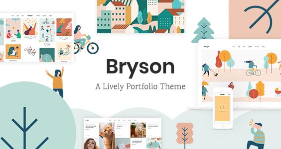 Bryson - Illustration and Design Portfolio Theme