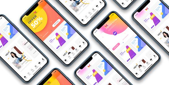 Ionic WooCommerce marketplace mobile app - wc marketplace