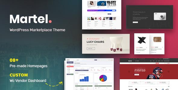 Martel - Modern eCommerce Marketplace WordPress Theme