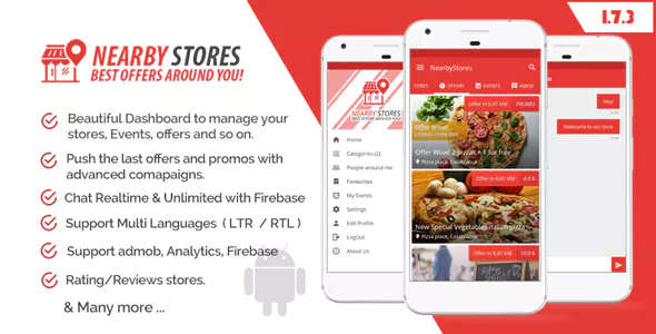 NearbyStores location finder App