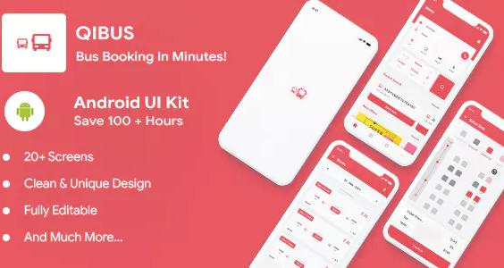 QIBus Bus Booking UI App