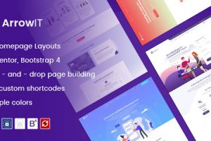 ArrowIT - Technology, Digital Transformation WordPress Theme