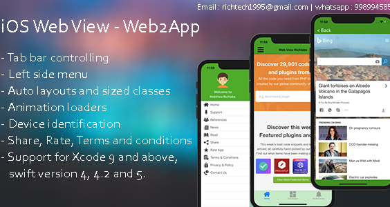 IOS WebView - Web2App | Admob